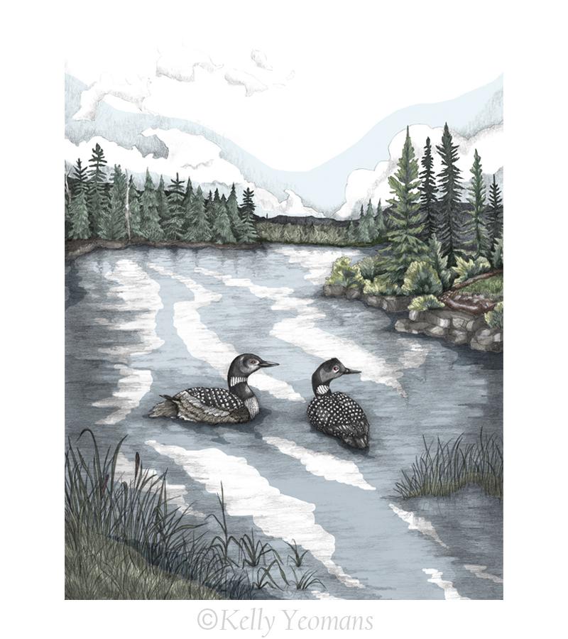 Nature Illustration Art