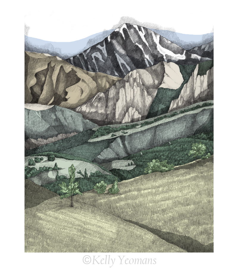 Mountain Illustration